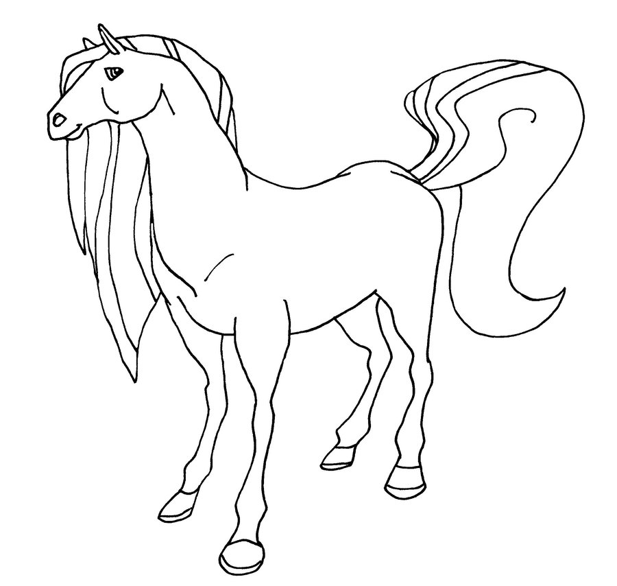 horseland zoey coloring pages - photo#31