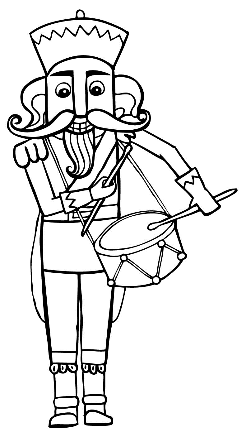 the nutcracker coloring pages - photo#2