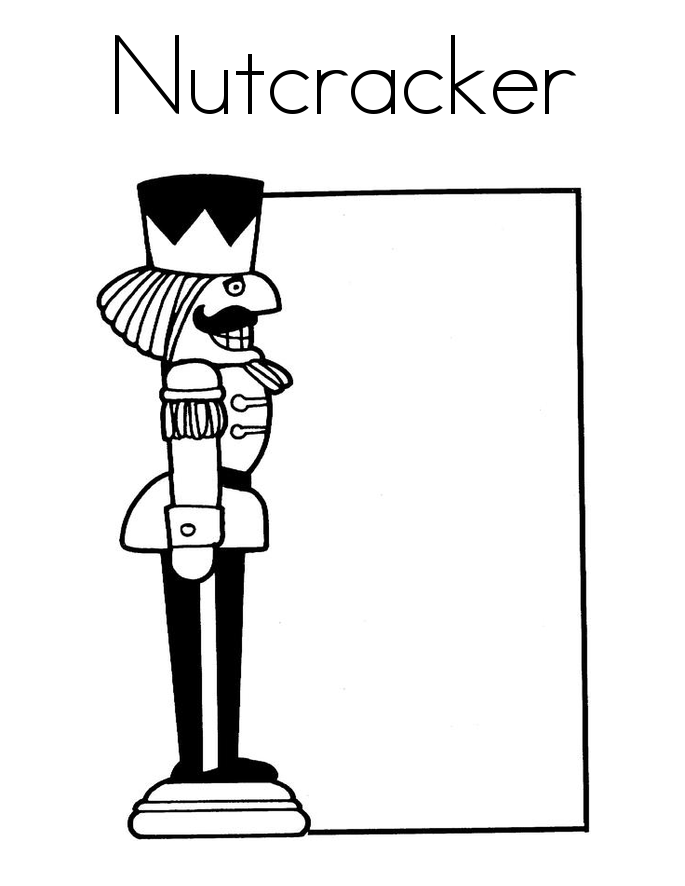 coloring pages of nutcrackers - photo#32