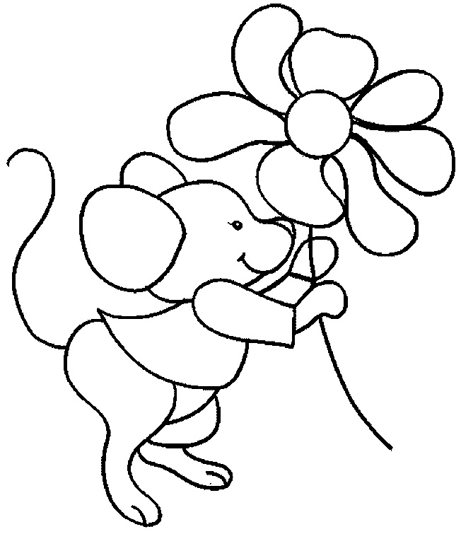 Free Printable Mouse Coloring Pages For Kids Coloring Page Mouse