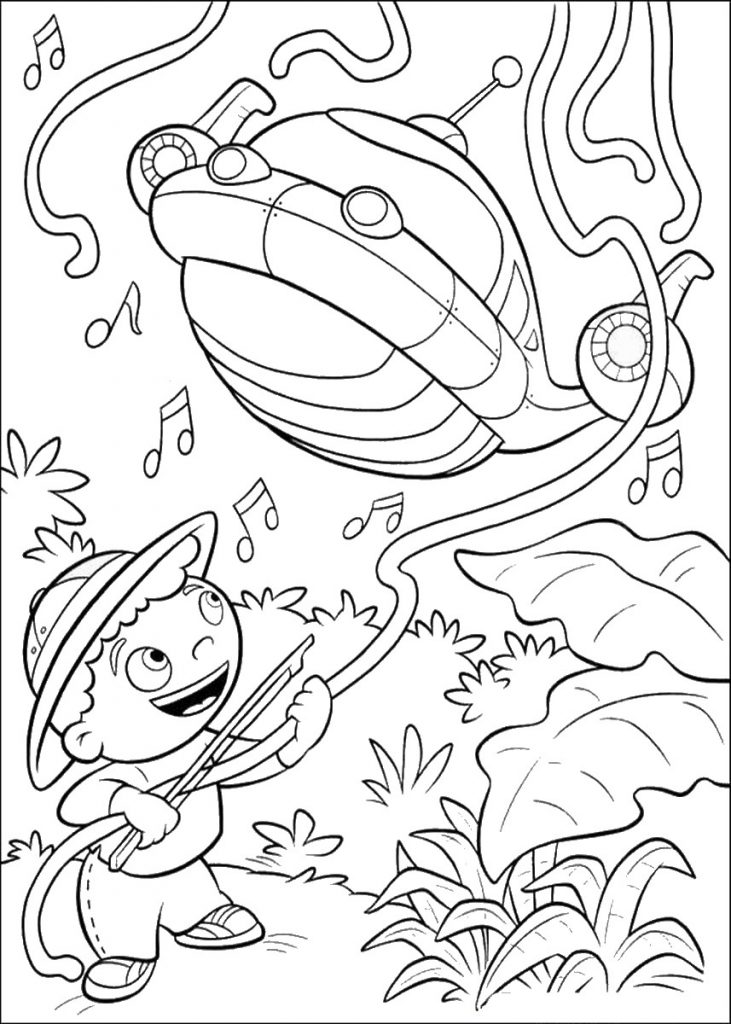 Coloring Pages of Little Einsteins