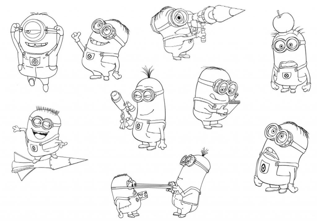 Free Printable Despicable Me Coloring