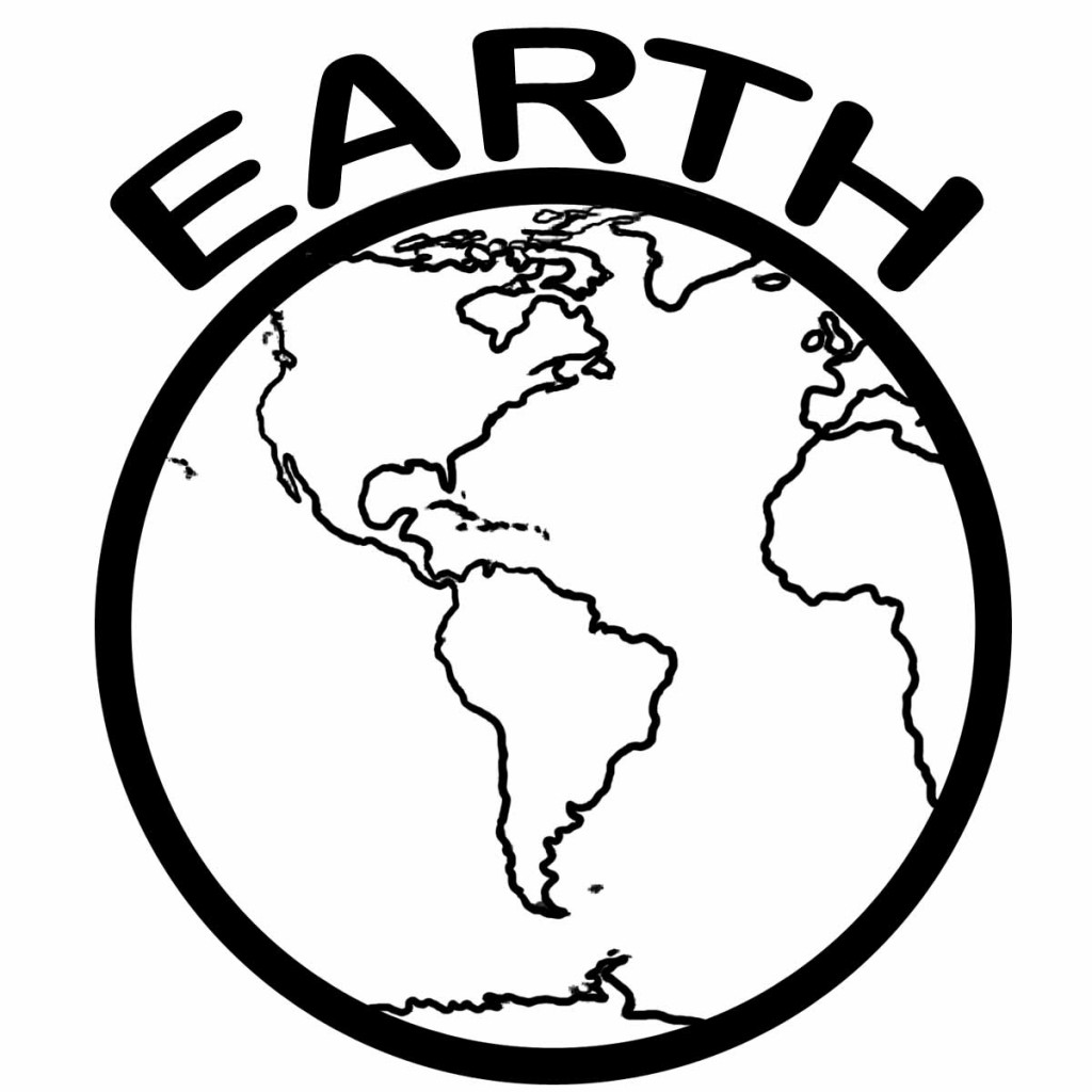 coloring pages for earth day - photo#20