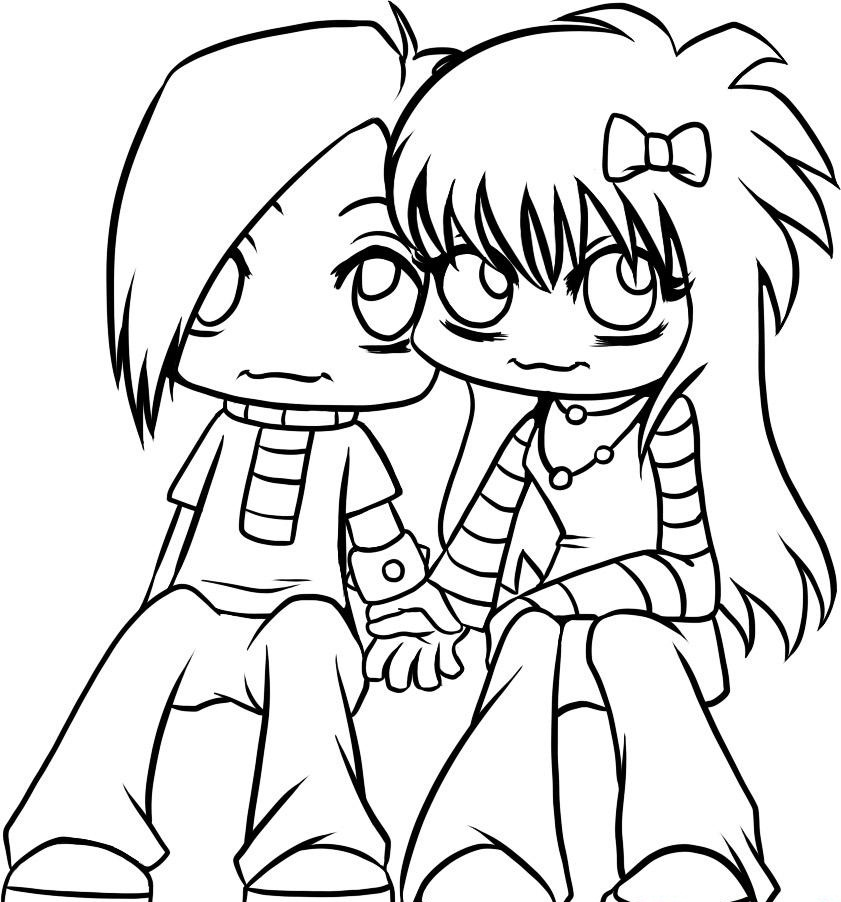 Free Printable Emo Coloring Pages For Kids - Best Coloring ...