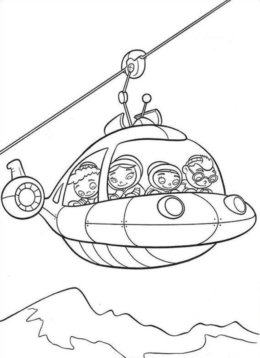little einsteins coloring pages little einsteins be a marching