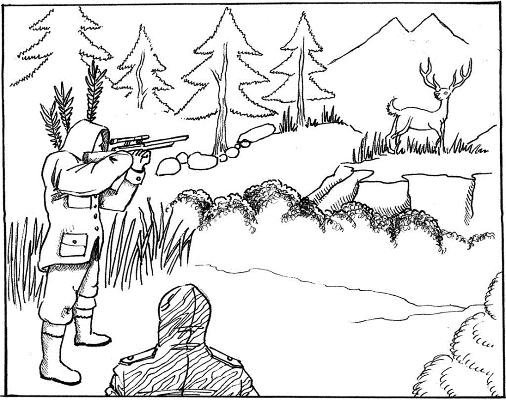 Hunting Coloring Pages Free Printable Hunting Coloring Pages For Kids