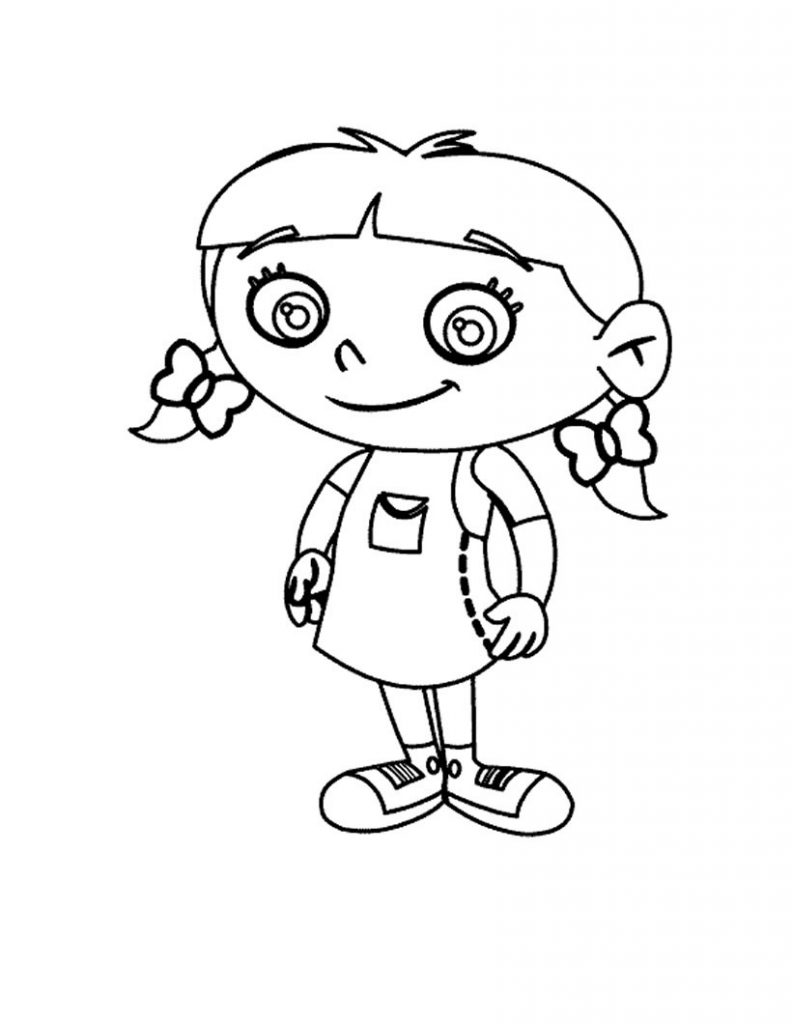 coloring pages for little kids - photo#9
