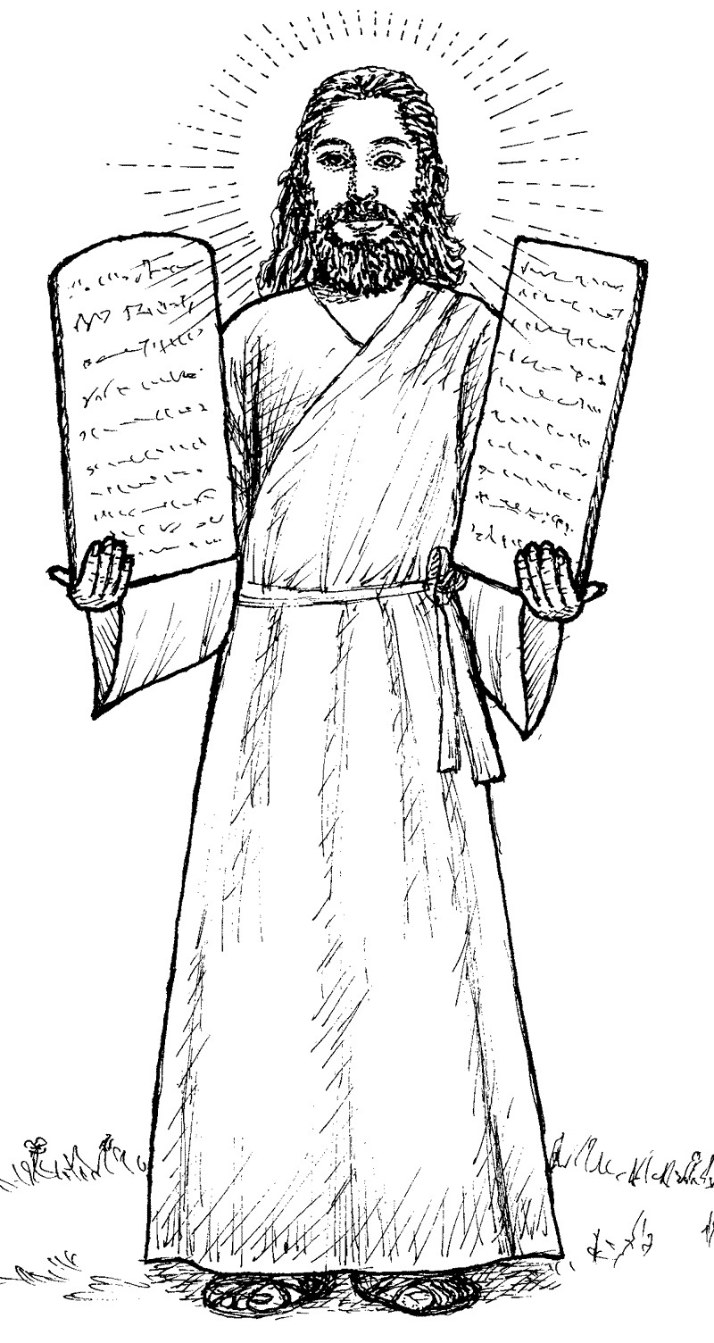Coloring pages moses and ten commandments - Free Coloring Pages Ten Commandments Moses Bible Coloring Pages