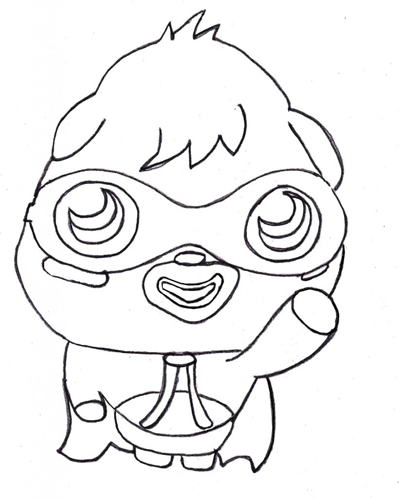 This is an image of Irresistible Monster Coloring Pages for Kids