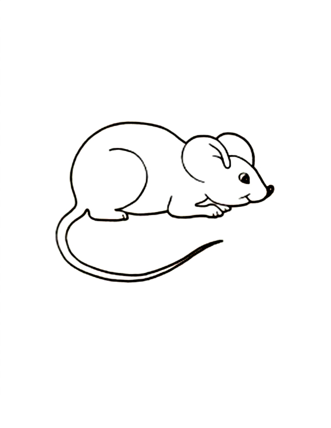 mice printable coloring pages - photo#2