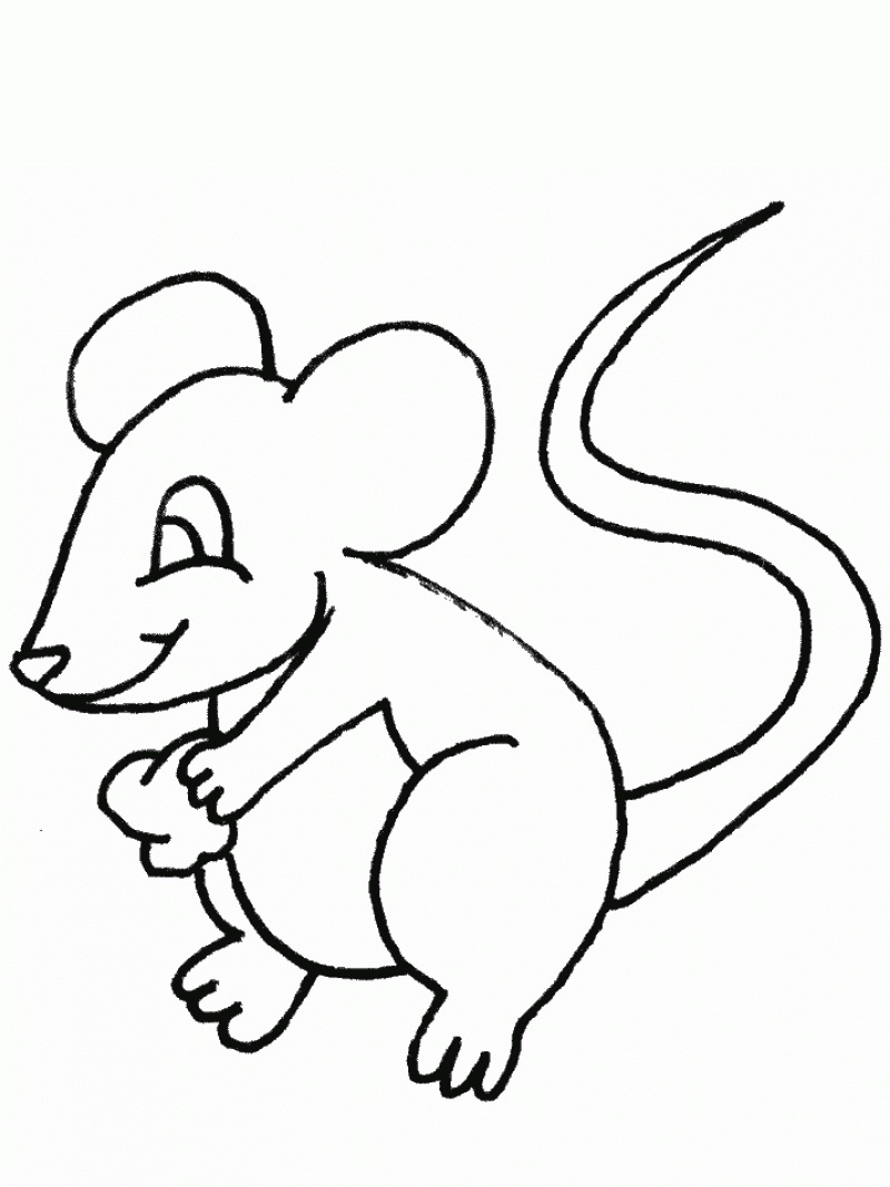 mice printable coloring pages - photo#1