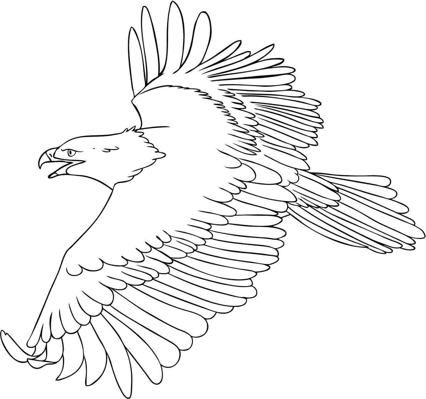 coloring pages of eagles - photo#10
