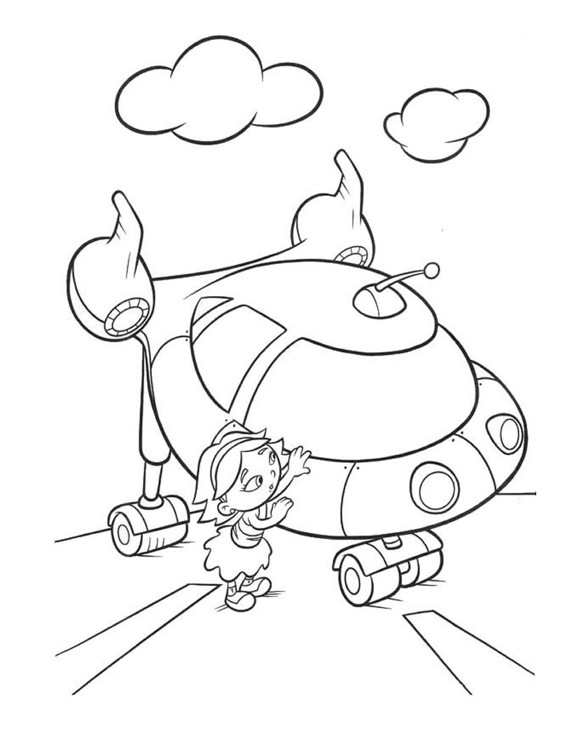 little einsteins coloring pages printable - photo#32