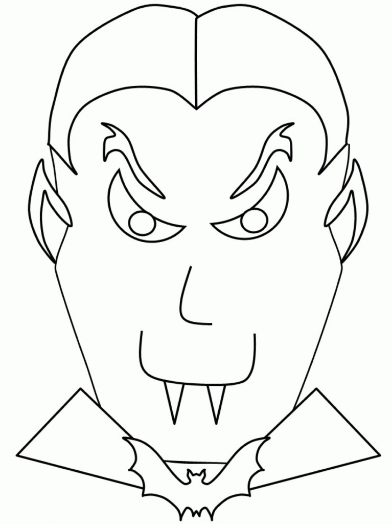 Coloring Pages Vampire : Free printable vampire coloring pages for kids