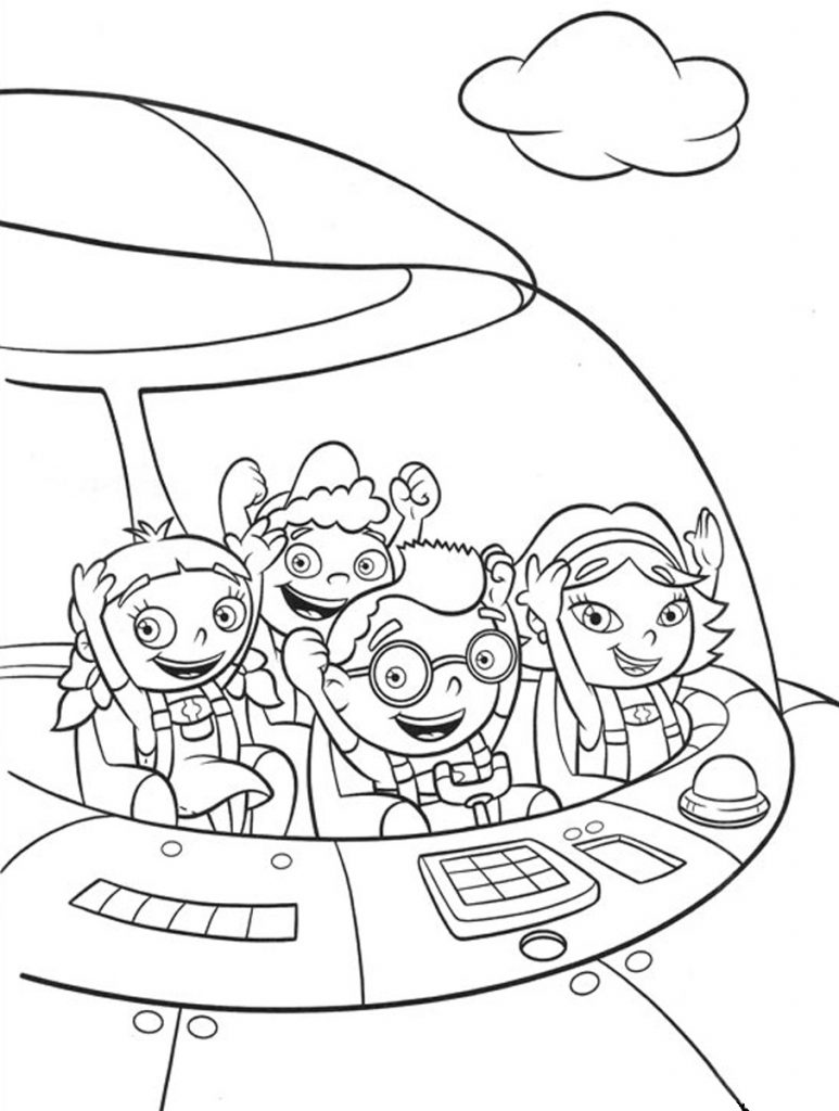 Color Little Einsteins