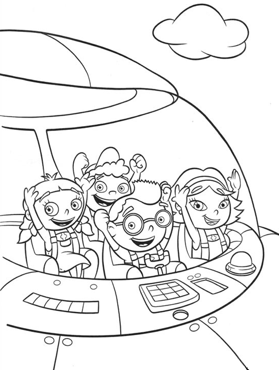little einstein rocket ship coloring pages | Free Printable Little Einsteins Coloring Pages. Get ready ...
