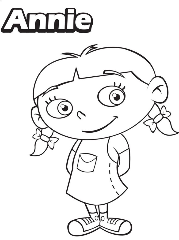 Little Einsteins Coloring Pages - Annie