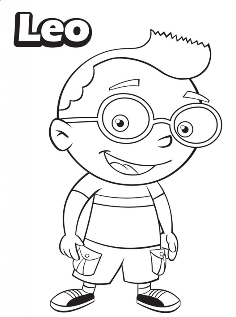Little Einsteins Coloring Pages - Leo