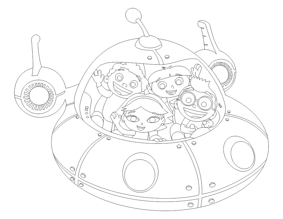 Print Free Little Einsteins Coloring Page