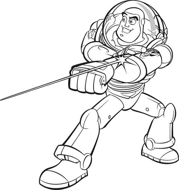 buzz lightyear coloring pages - Buzz Lightyear Coloring Pages Free