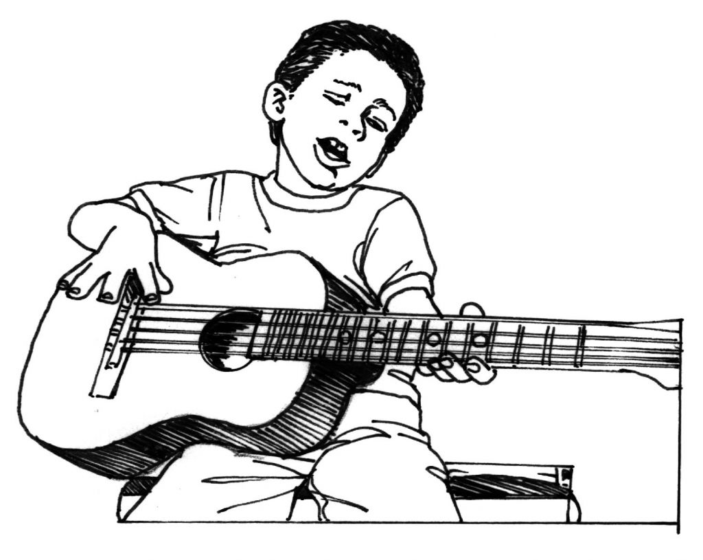coloring pages kids boys - photo#40