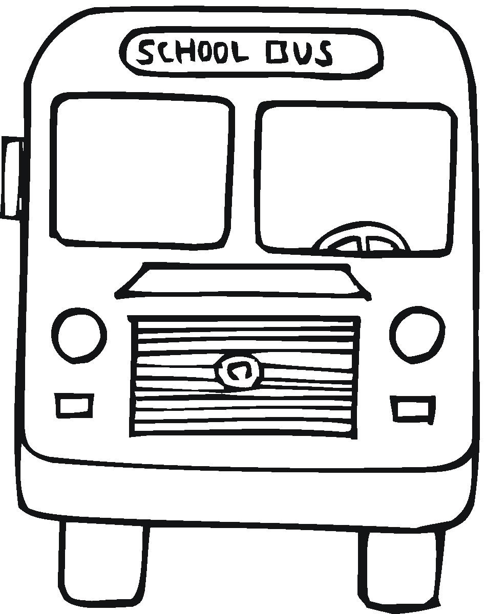 Adult Best School Bus Color Page Images top coloring page school bus pages safety images