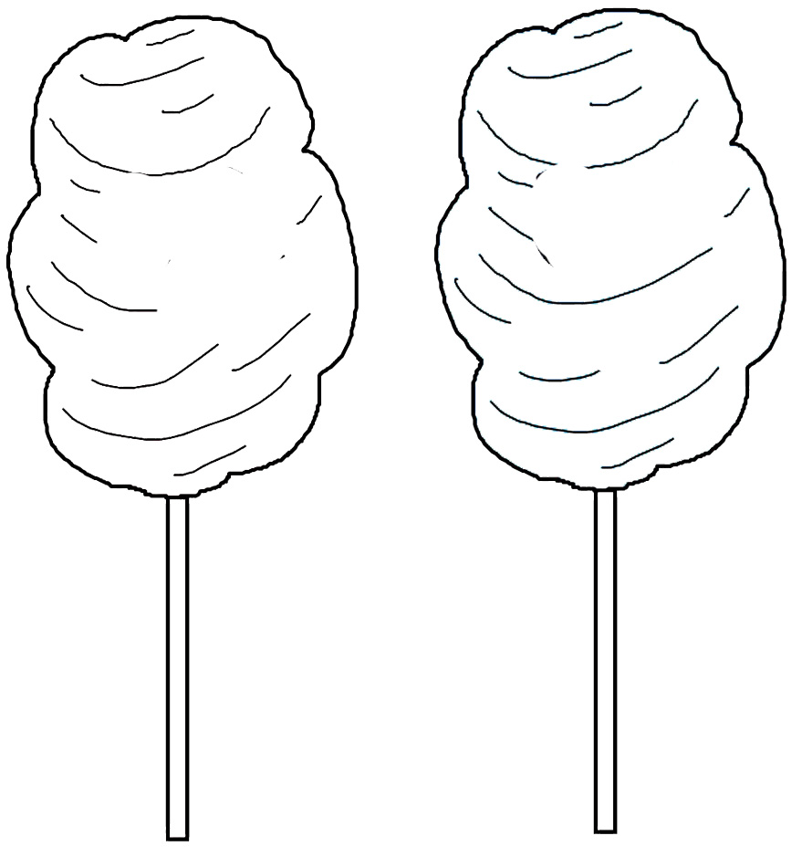 coloring pages fo candy - photo#31