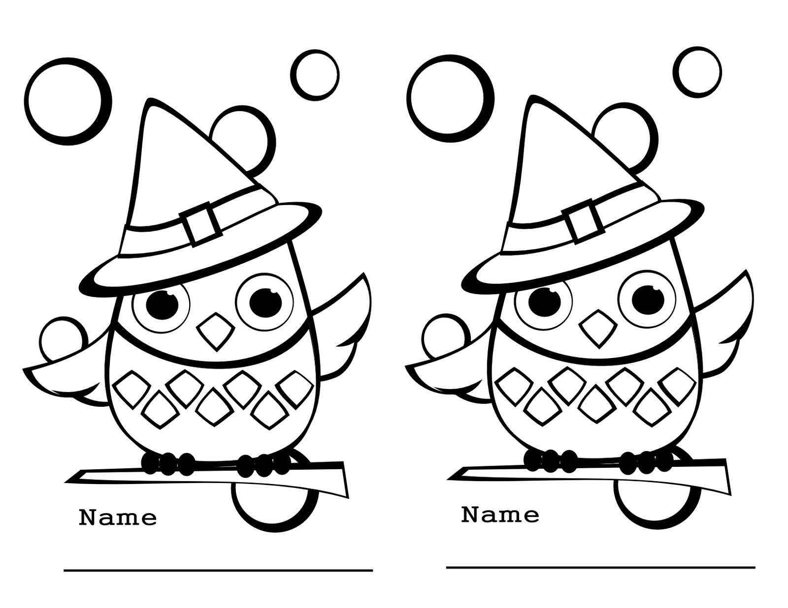 Free printable kindergarten coloring pages for kids for Printable owl coloring pages