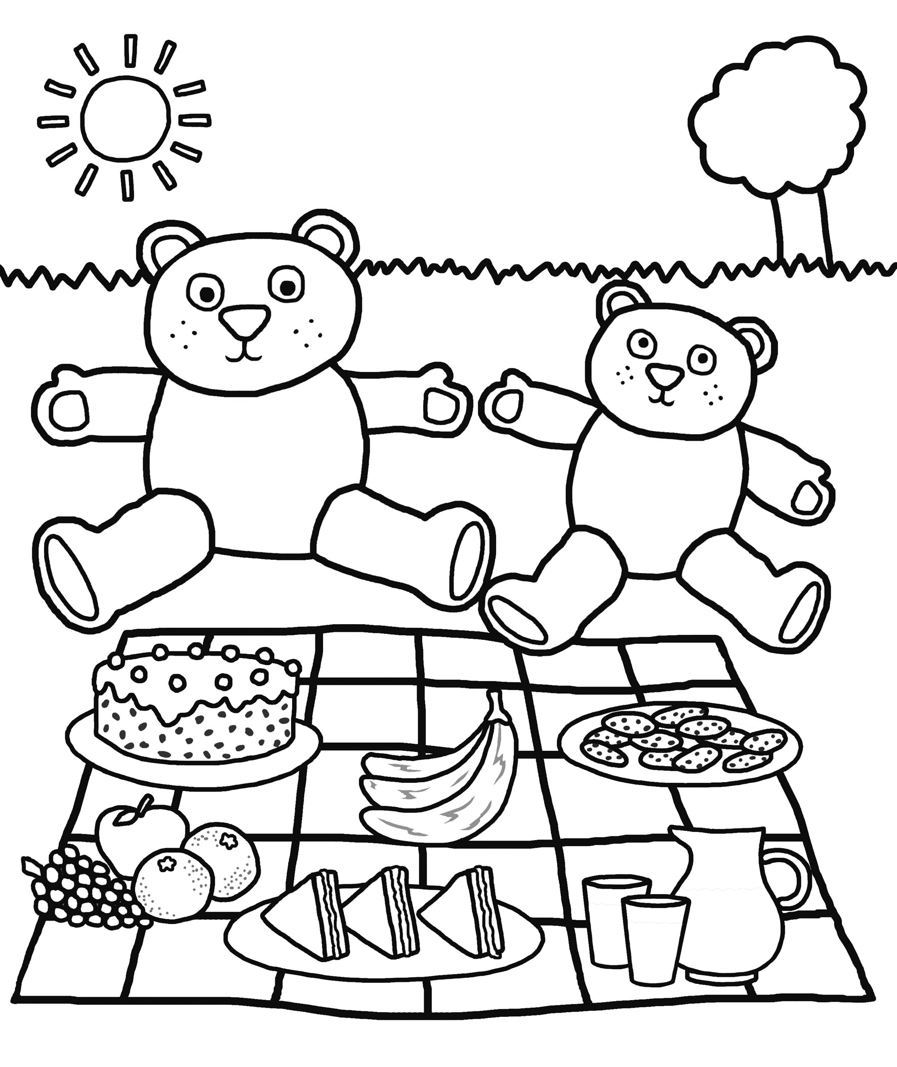 Free printable kindergarten coloring pages for kids for Coloring pages for kids download