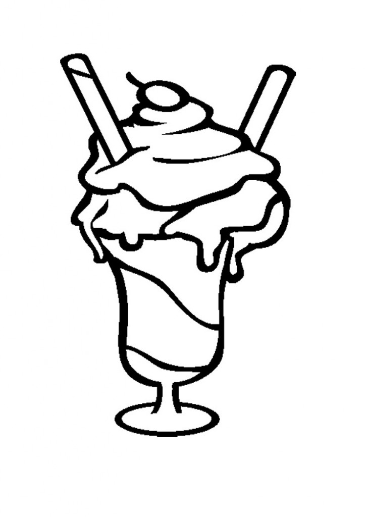 printed coloring pages - free printable ice cream coloring pages for kids