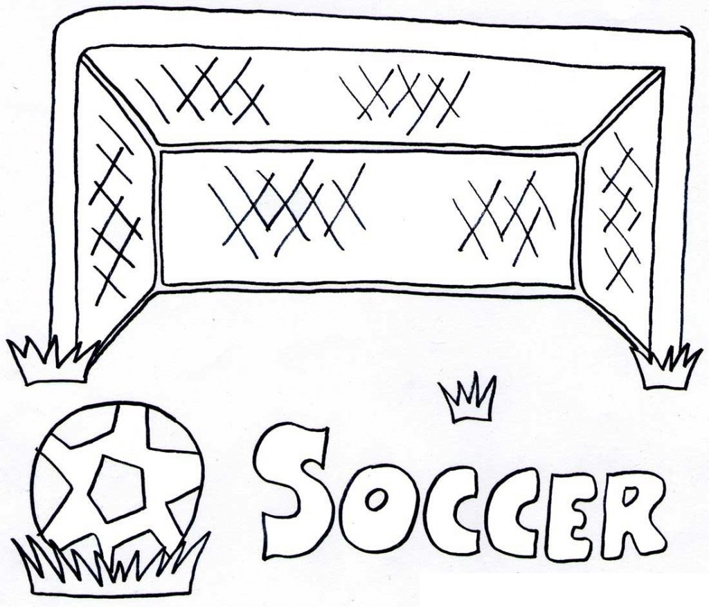 Free printable coloring pages soccer - Free Soccer Coloring Pages