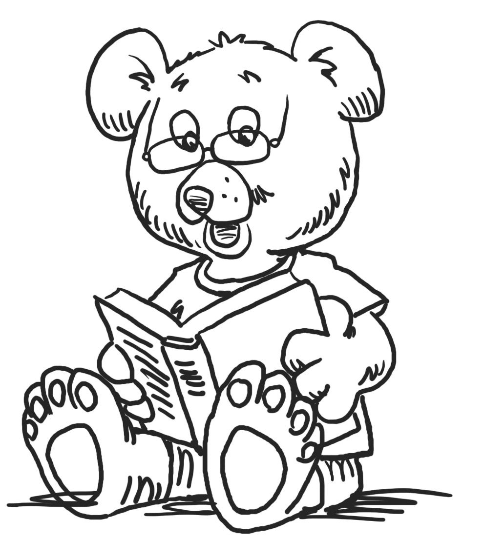 Free coloring in pages - Kindergarten Coloring Pages