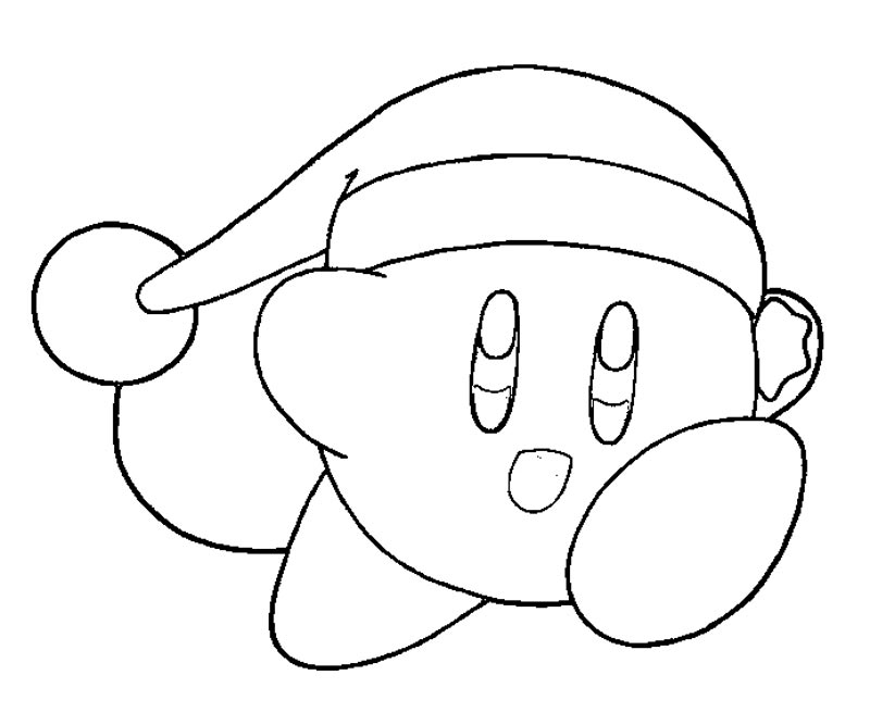 nintendo kirby coloring pages - photo#26