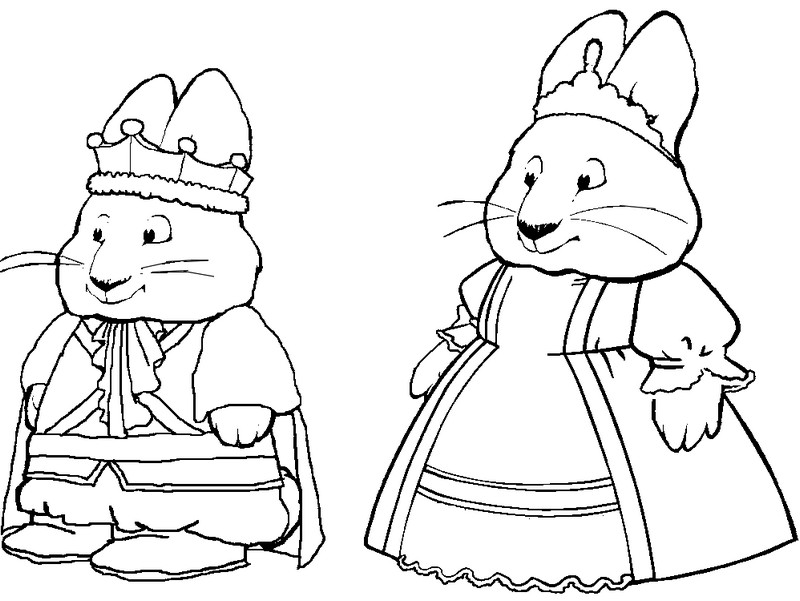 Free Printable Max And Ruby Coloring Pages For Kids Max And Ruby Coloring Pages