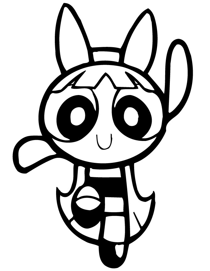 Free Printable Powerpuff Girls Coloring Pages For Kids Power Puff Coloring Pages