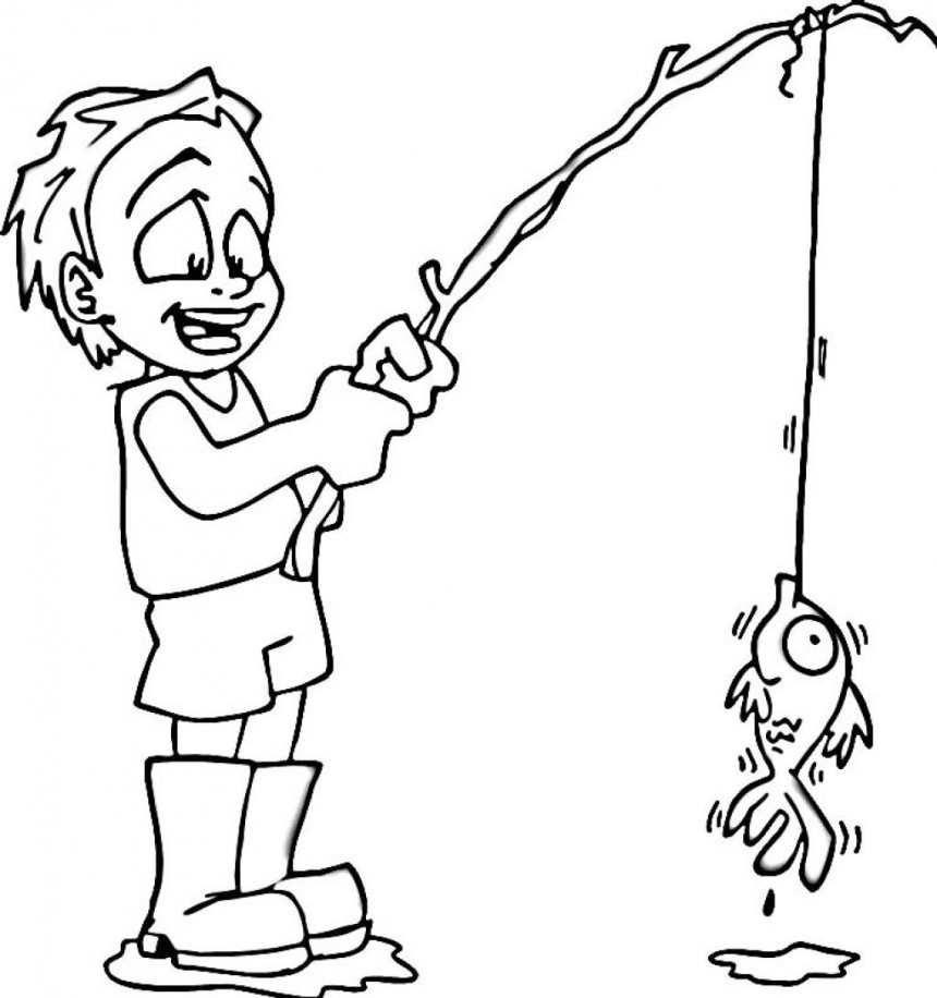 coloring pages kids boys - photo#16
