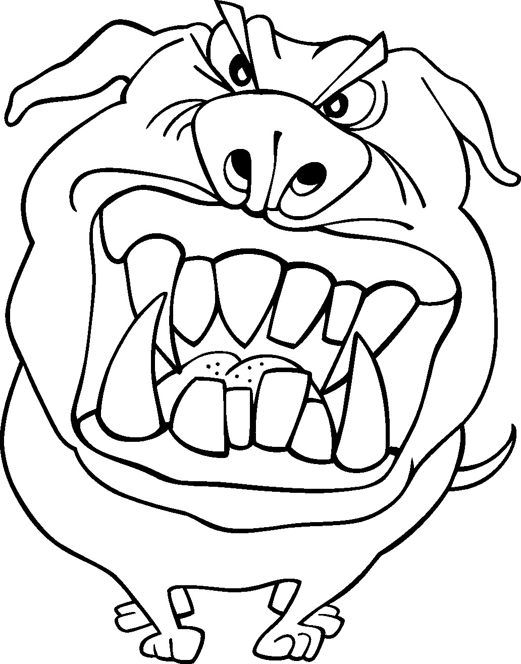 printable funny coloring pages