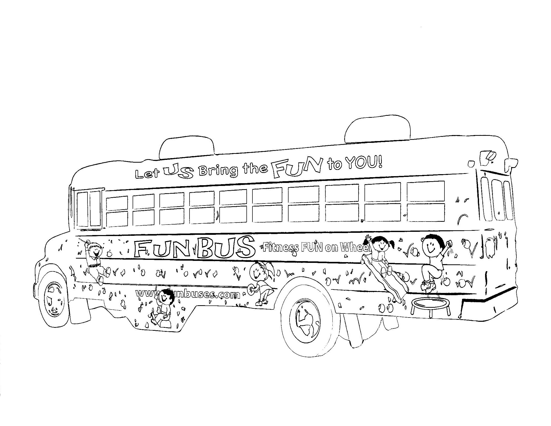 It is a picture of Universal School Bus Printable