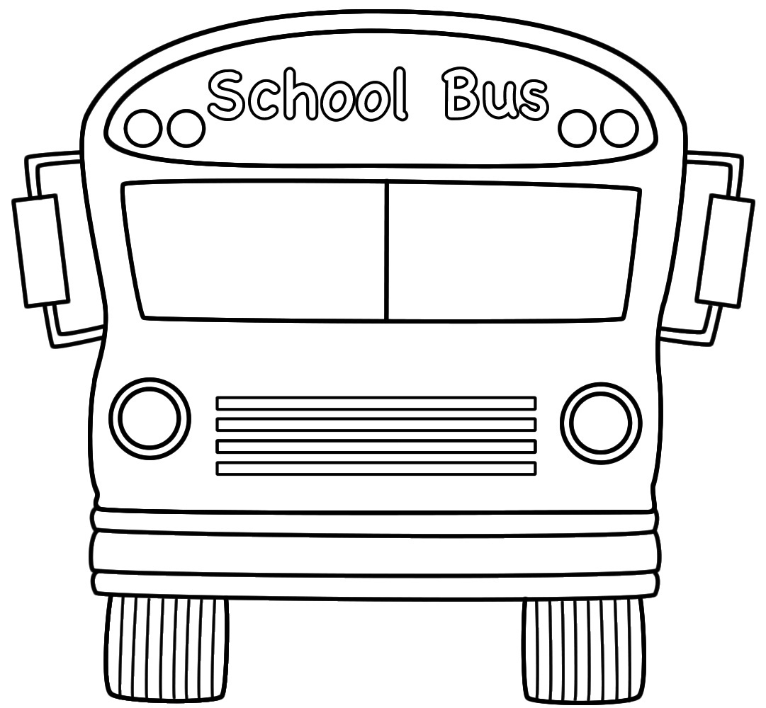Arthur coloring pages online - School Bus Color Page
