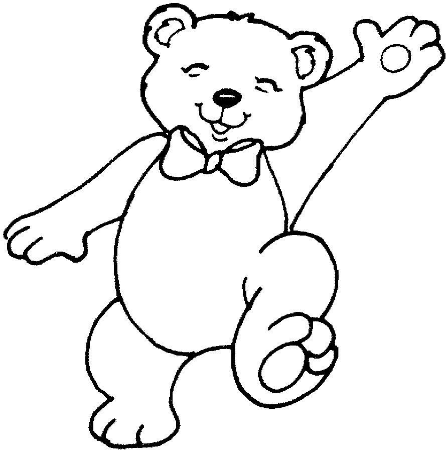 coloring pages teddy bears teddy bear color page
