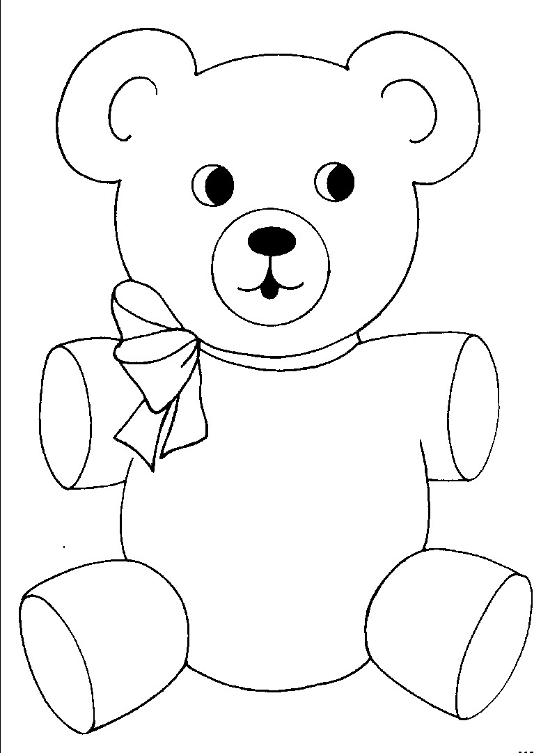 free coloring pages little bear - photo#16
