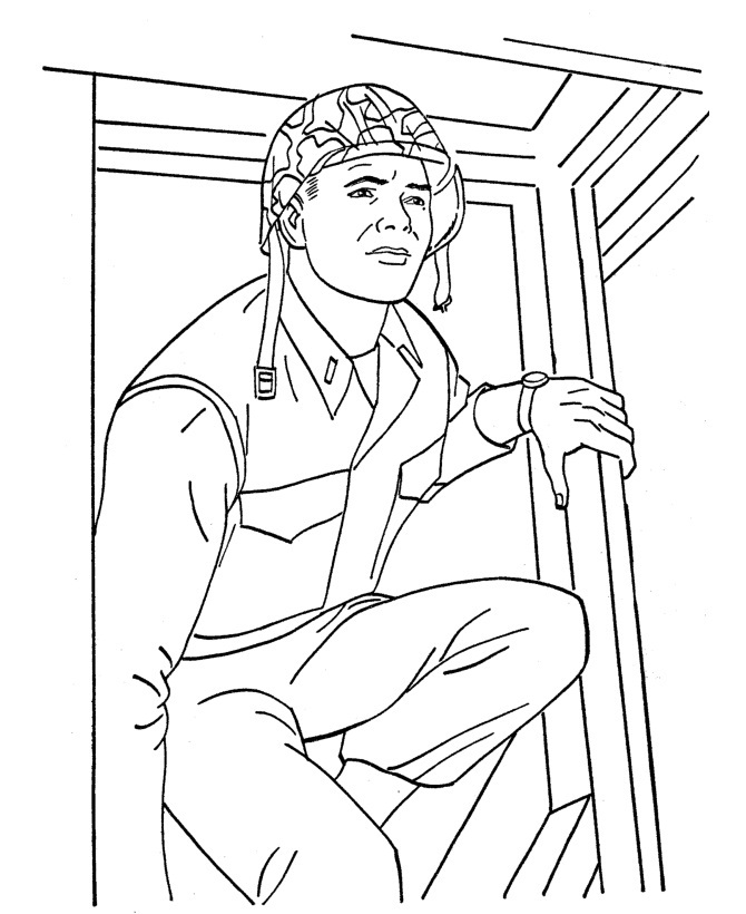 soldier coloring pages for kids | Free Printable Army Coloring Pages For Kids