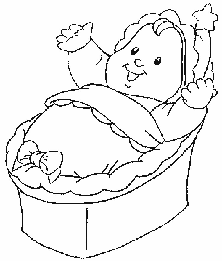 Printable Baby Coloring Pages For Kids