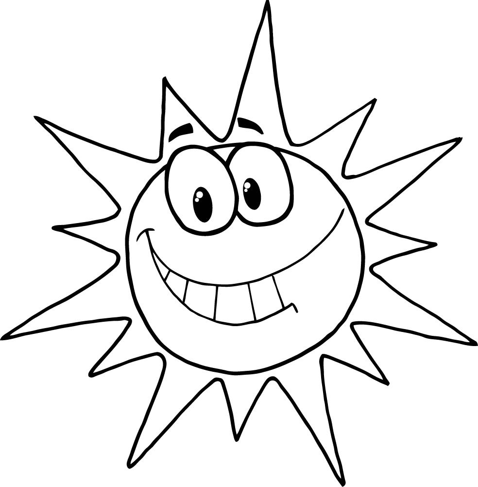 coloring pages suns - photo#6