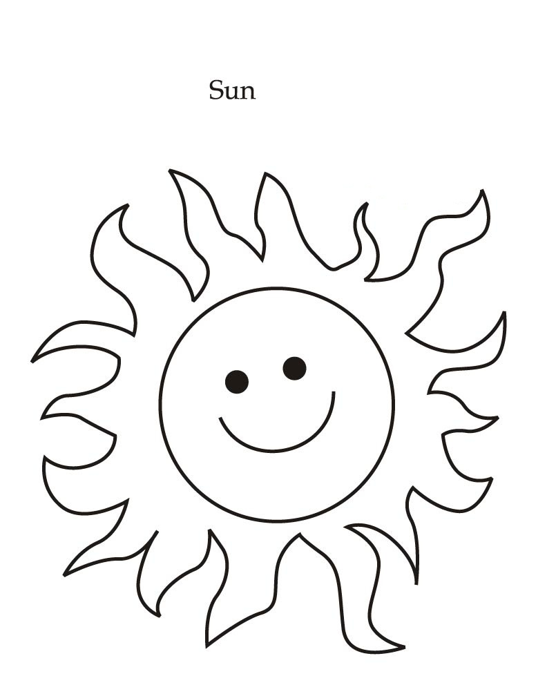coloring pages suns - photo#16