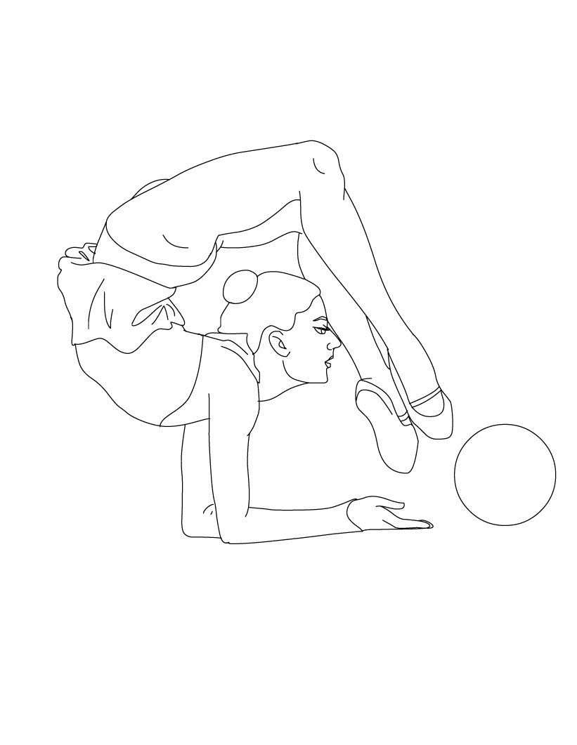 Uncategorized Gymnastics Pictures To Print free printable gymnastics coloring pages for kids to print