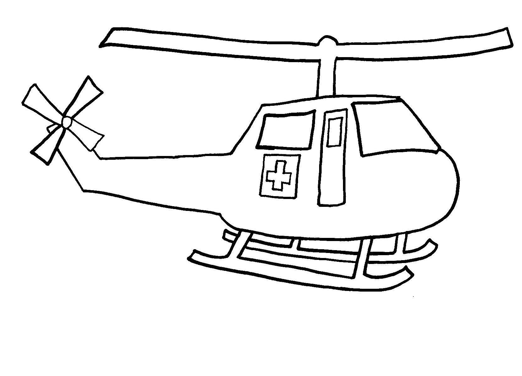 Volcano coloring pages to print - Helicopter Coloring Pages To Print