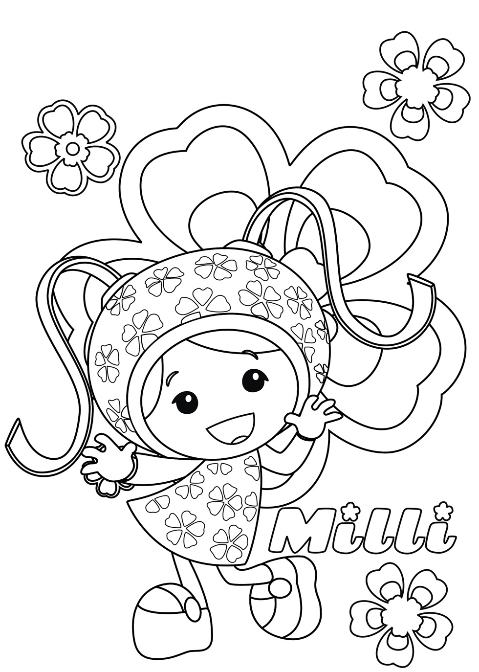 Free Printable Team Umizoomi Coloring Pages For Kids Coloring Pages To Print Free