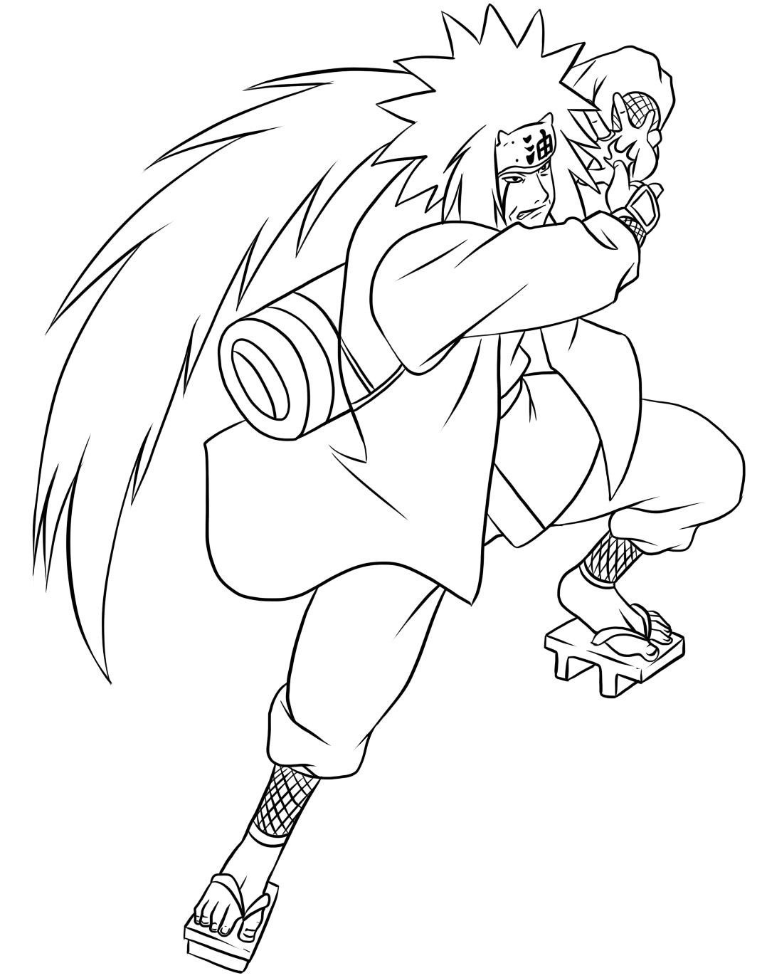 coloring pages of naruto - photo#13