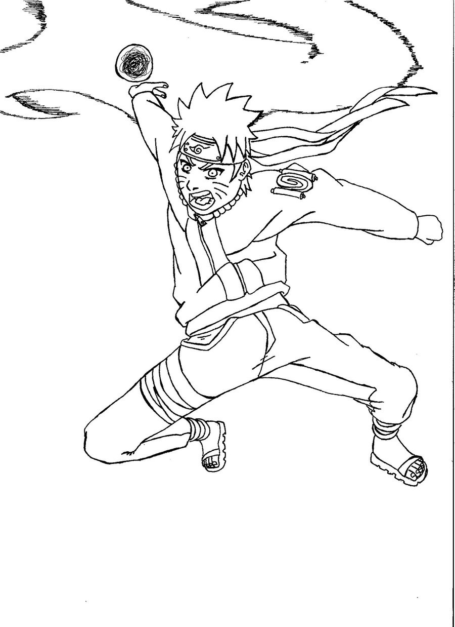 Coloring Pages To Print : Free printable naruto coloring pages for kids